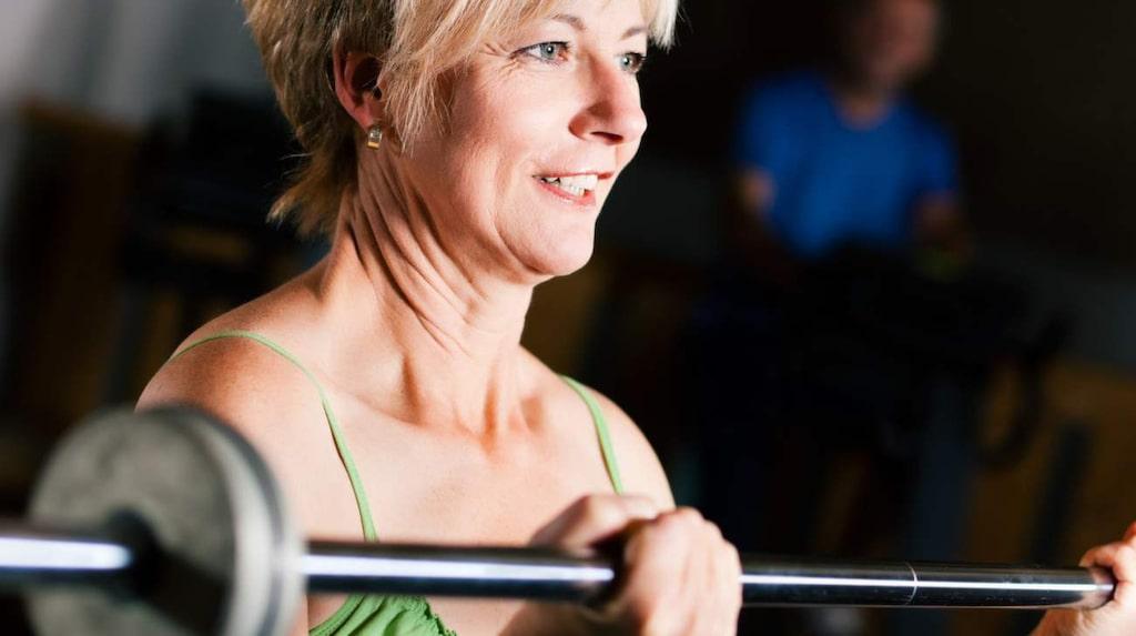 <p>Styrketräning blir ännu viktigare när du börjar komma upp i åren.</p>