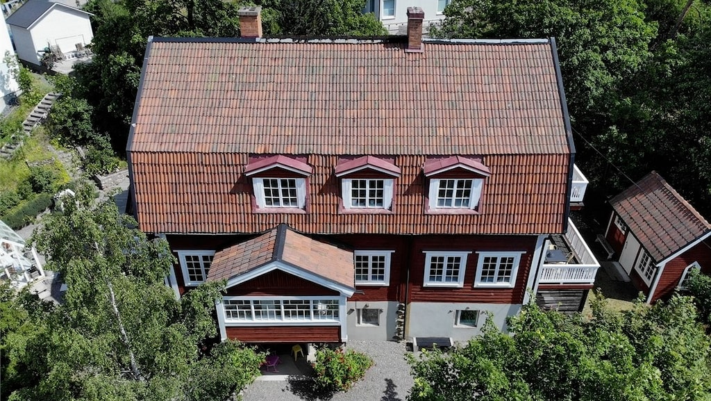 Susanna Zackes hus i Sollentuna ligger ute till försäljning.