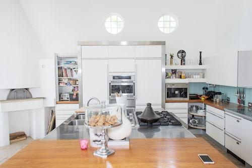 Köket på andra våningen.