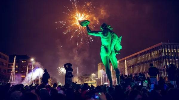 Budskapet för Göteborgs oficiella firande är att ingen ska behöva vara ensam på nyår.