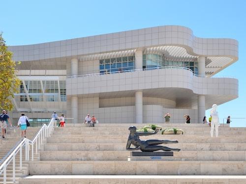 Getty-museet I Los Angeles är ett under av modern elegans.