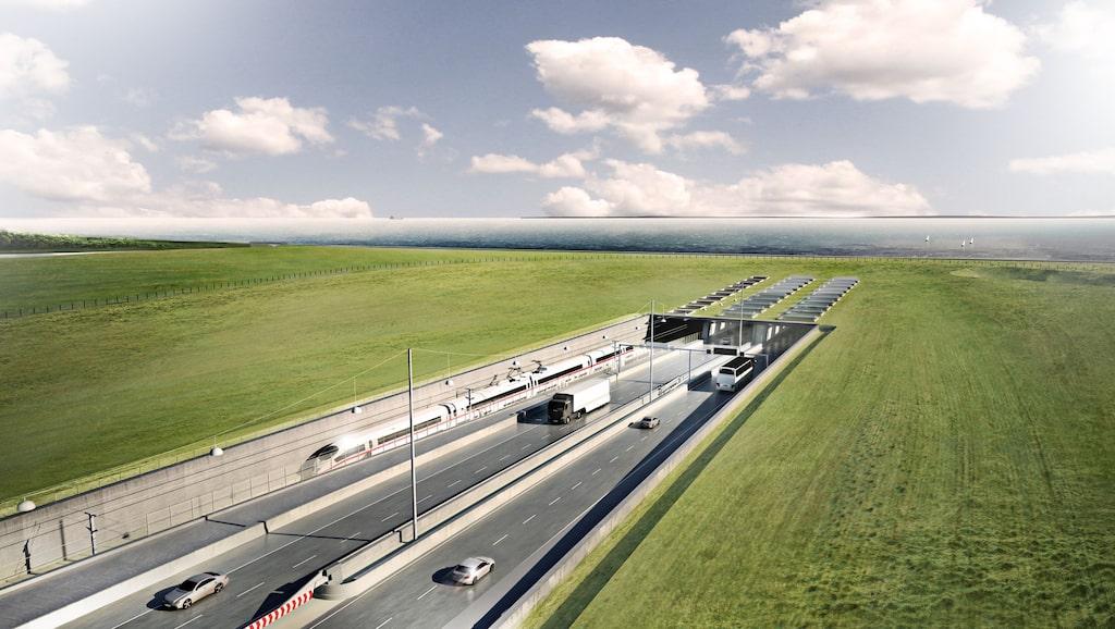 När den är färdig kommer Fehmarn Bält-tunneln att bli världens längsta kombinerade väg- och järnvägstunnel.