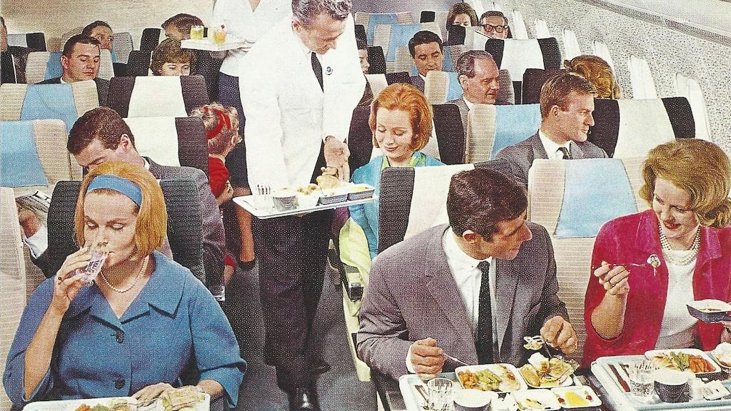 På 1960-talet drack man ur kristallglas.