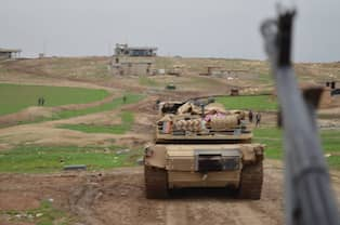 Puk rycker fram i kurdistan