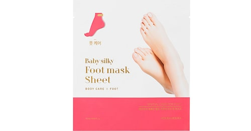Baby silky foot mask sheet, Holika