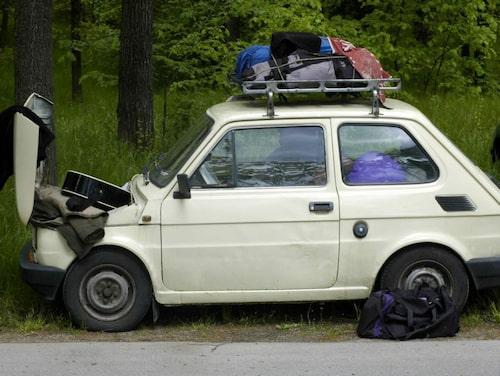 Kolla upp vad du måste ha med i bilen.
