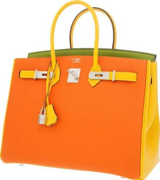 Hermès väska såldes för rekordhögt pris | Nöje | Expressen