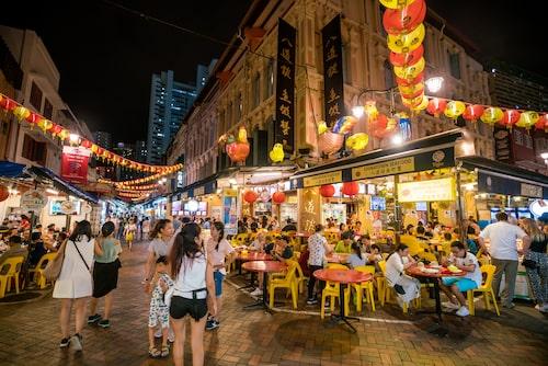 Chinatown i Singapore.