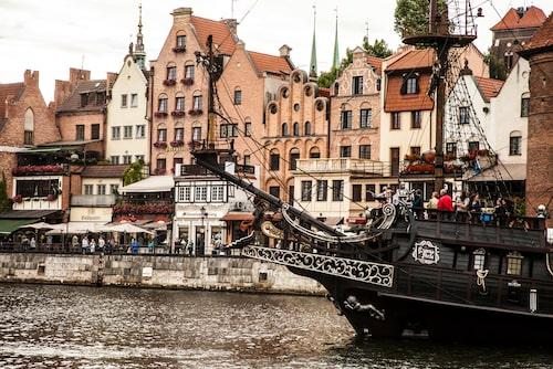 Gdansk bjuder på praktfulla medeltidsmiljöer.