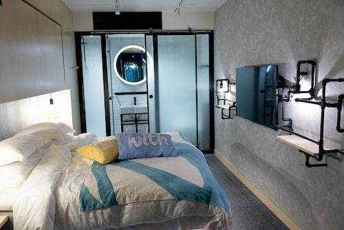 Underjordiskt gästrum på Hotel With Urban Deli.