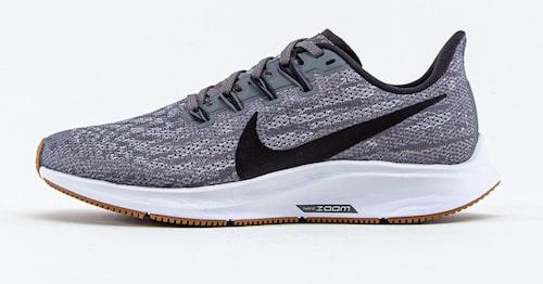 Test av Nike Air Zoom Pegasus 36. Betyg: 4 getingar.