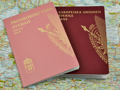 Att skaffa ett provisoriskt pass är långt igtån gratis.