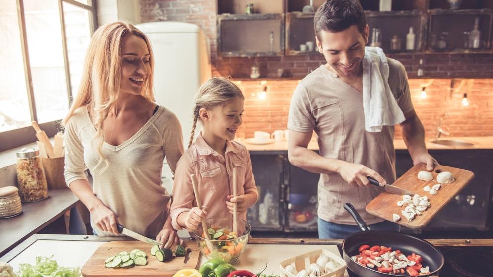I ett rent kök är det roligare att laga mat från grunden.