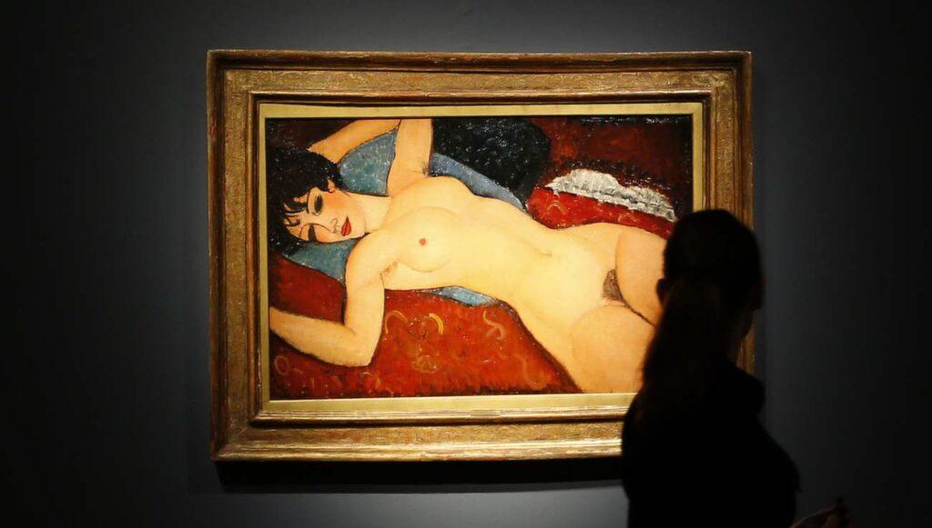 "<p>170,4 miljoner dollar gick Amedeo Modiglianis konstverk ""Nu Couché"" för.</p>"