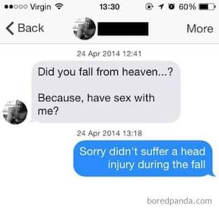 Bra svar för online dating