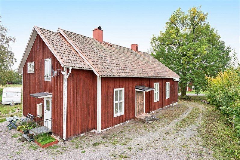 Det här huset erbjuder fantastiska möjligheter att skapa sitt eget unika hem.