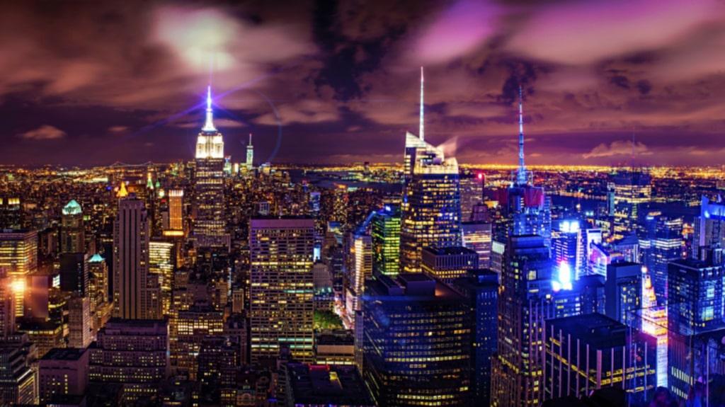 New York kommer på andra plats...