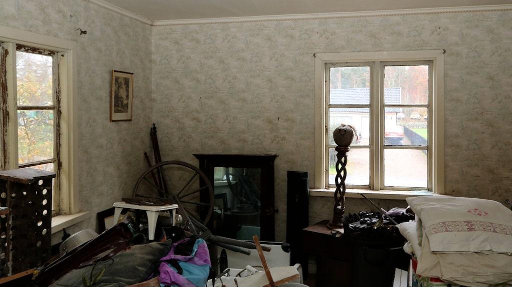 Huset som är på 170 kvadratmeter har åtta rum.