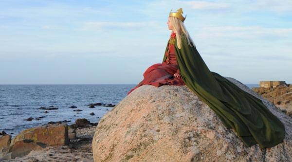 Sankta Thoras sten ligger nere vid stranden i Torekov.