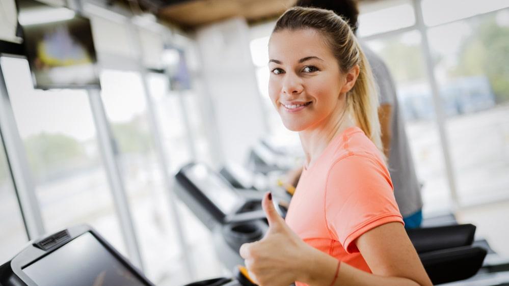 Vill du få bättre självkänsla? En tur till gymmet kan vara lösningen.