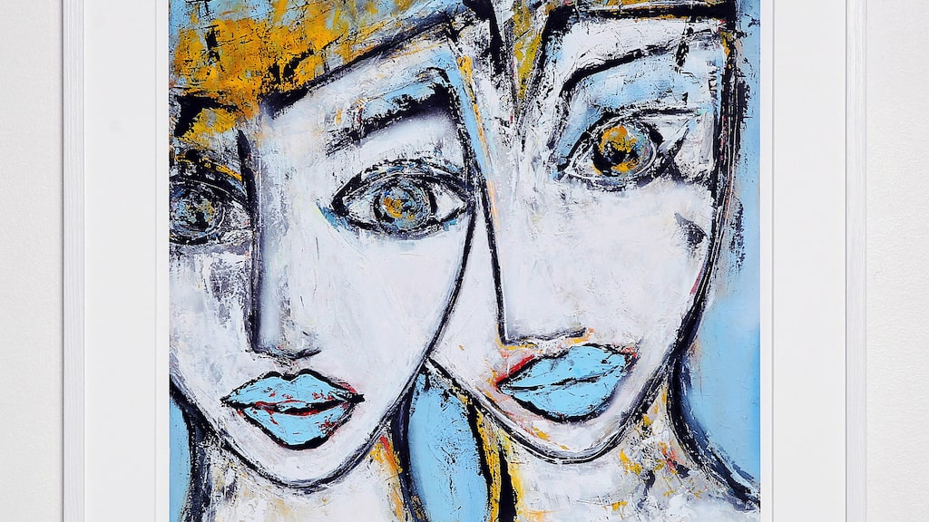 """Me and myself"" av Camilla Lundén."