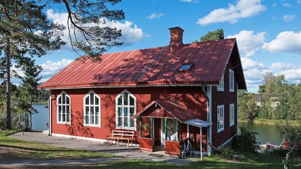 Skärgårdskapell på Ljusterö.