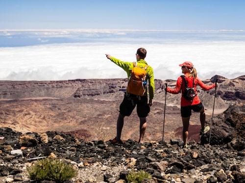 På Teneriffa finns många vandringsleder att utforska.