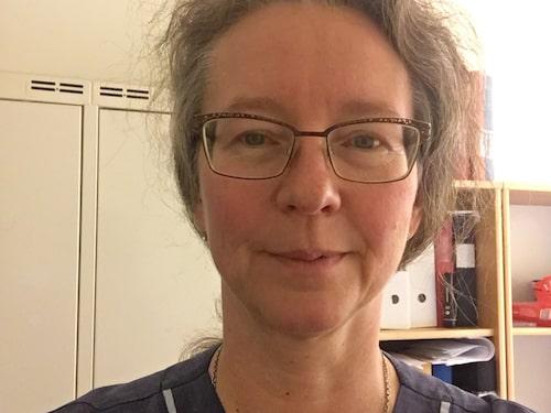 Kritisk. Yvonne Dellmark, ordförande för Karolinska universitetssjukhusets läkarförening, tycker prisnomineringen är skrattretande.