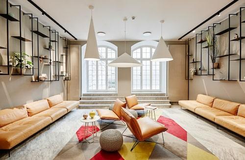 Inredningen på Nobis Hotel Copenhagen är delvis gjord av den svenske stjärnarkitekten Gert Wingårdh.