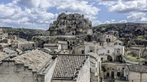 Grottstaden Matera