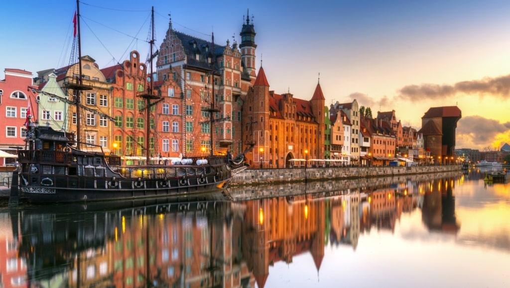 Vackra Gdansk.