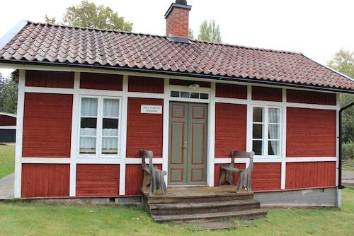 Albert Engströms hus i Småland.