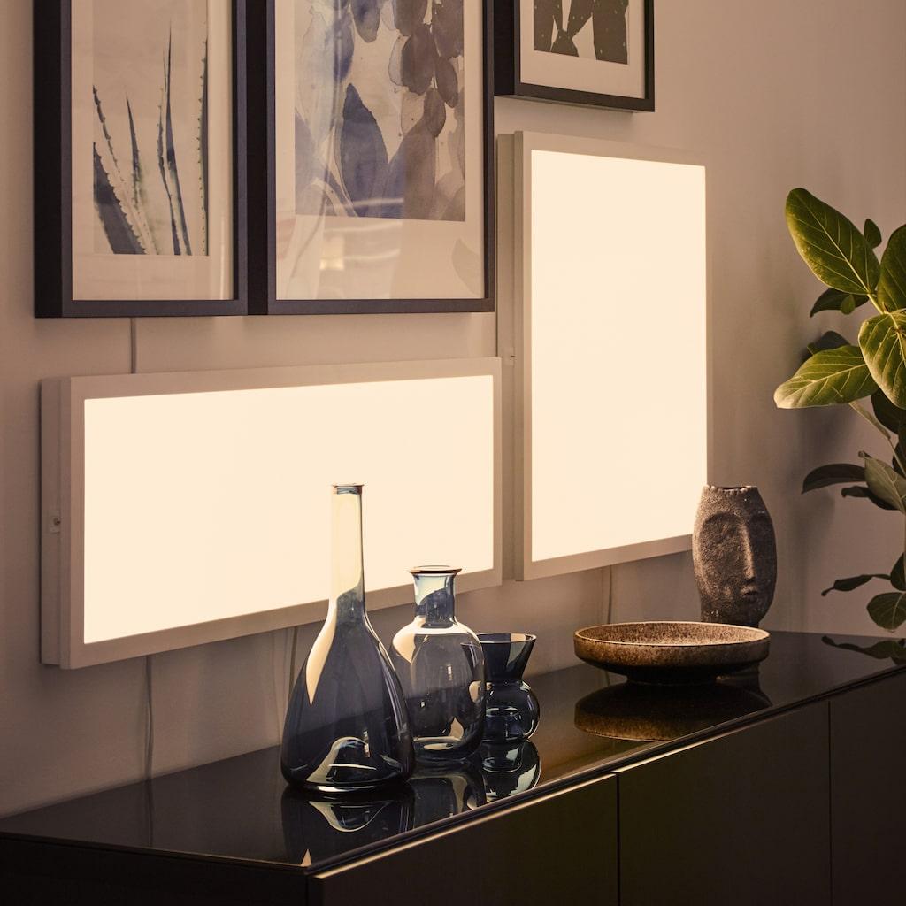 Smarta Floalt ljuspaneler kan dimmas trådlöst och ändra ljustemperatur i tre steg – och snart styras med rösten.
