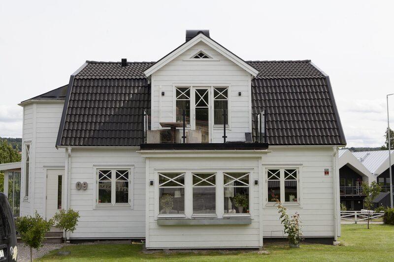Huset är byggt 1928 och genomgick en stor renovering 2010.