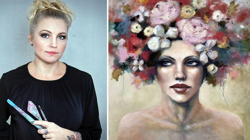 """<p>""""Jag vill att det ska finnas något poetiskt, magiskt och öppet i mina verk"""", säger konstnären Malin Östlund.<br></p>"""