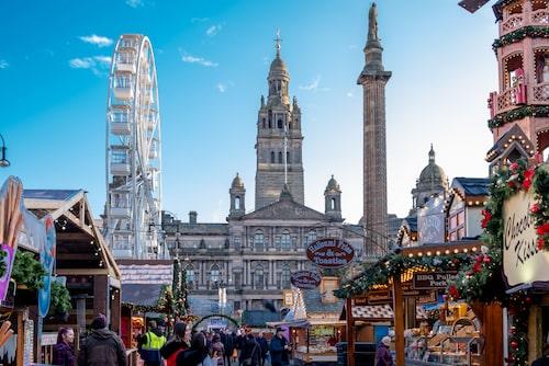 Glasgow önskar alla en god jul.