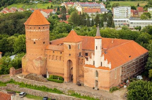 Reszels slott.