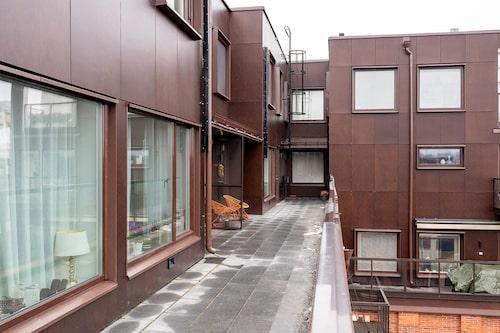 Penthouset byggdes 2014 som ett hus ovanpå ett befintligt hus.