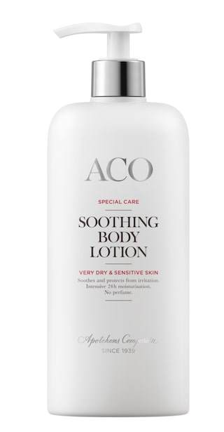 bästa body lotion för torr hud