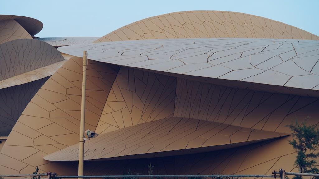 Museets tak består av 76 000 paneler i 3 600 olika former och storlekar.