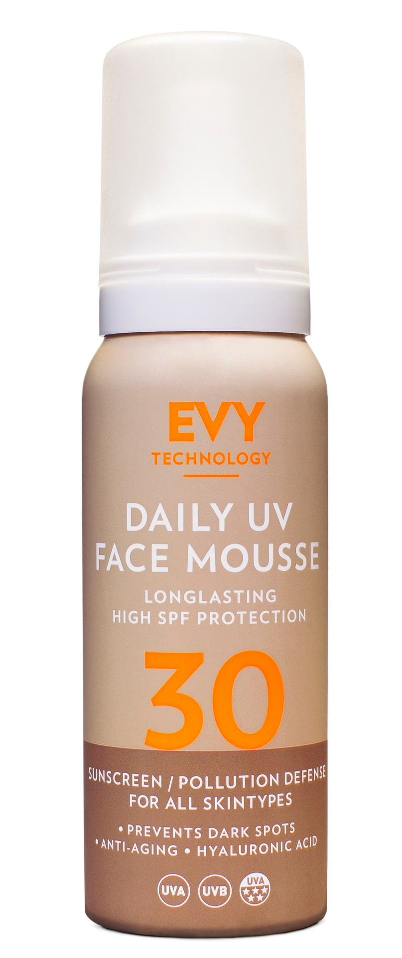 Daily face mousse, Evy.