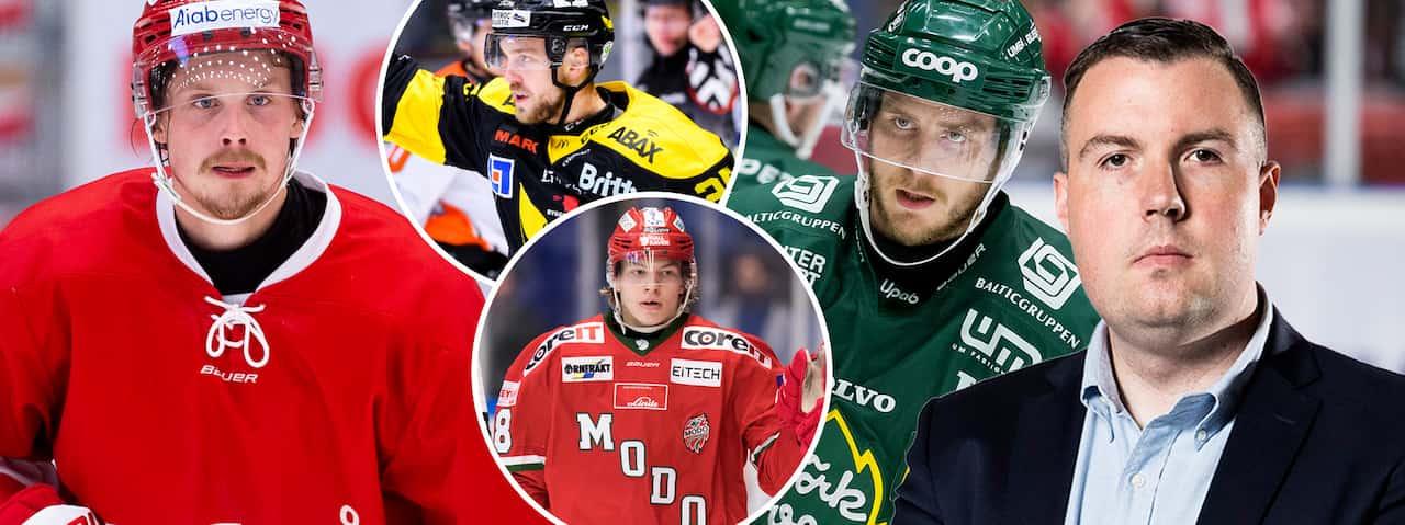 DOMEN: Så slutar hockeyallsvenskan