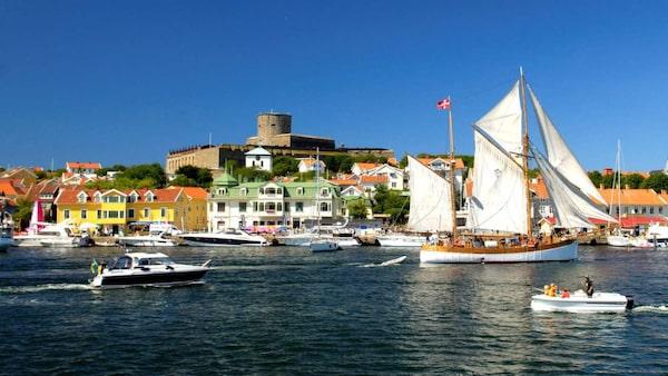 Sommarens seglingsmetropol Marstrand
