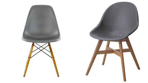 Eames Plastic Chair DSW/Stolen Fanbyn av Ikea.