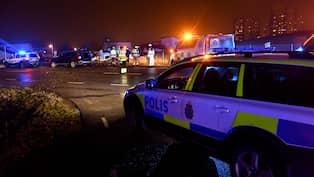 Fem till sjukhus efter olycka med polisbil