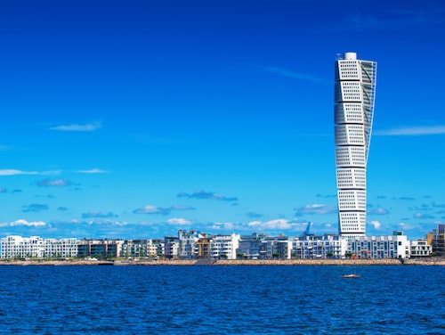 Ikoniska Turning Torso.
