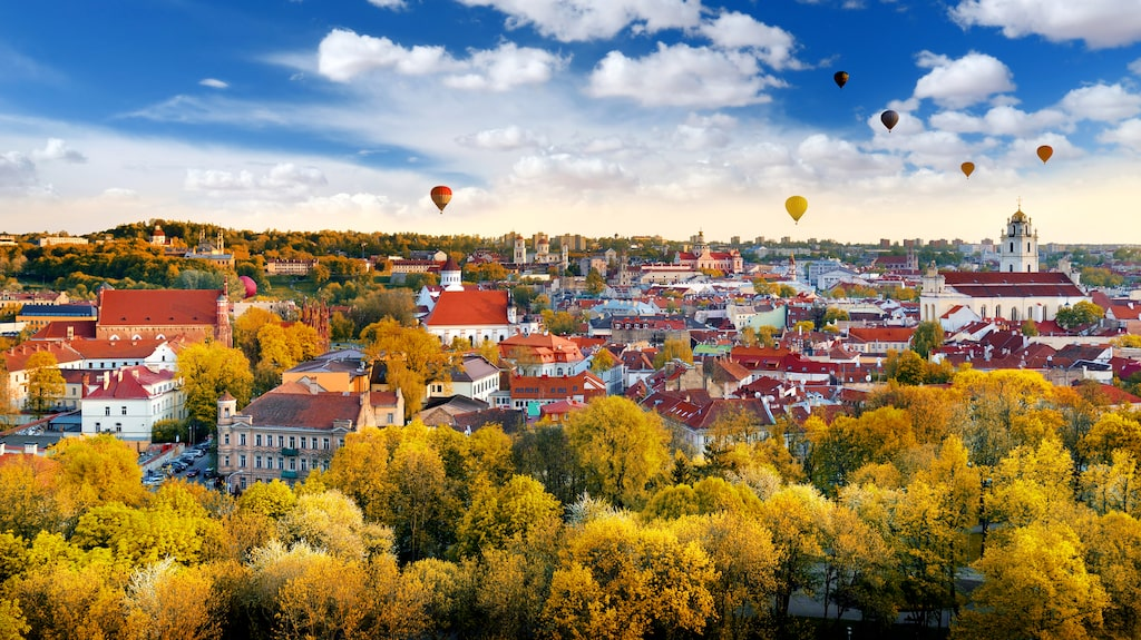 Vilnius är också ett av de billigaste resmålen i Europa.