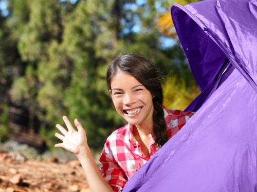 Glöm inte att hälsa på grannen och alla andra på campingen