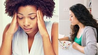 kan man spy av stress