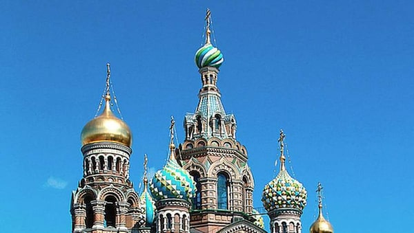 Uppståendelsekyrkan, Sankt Petersburg, Ryssland